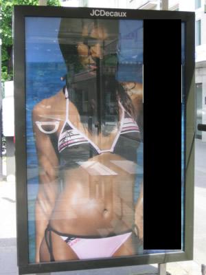 Bikini Werbung von wem?