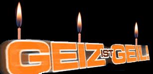 Geiz hat Geburtstag