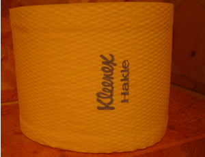 Kleenex-Hakle Toilettenpapier