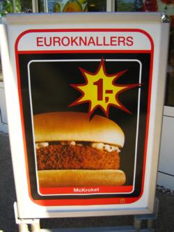 Mc Kroket der holländische Ethno-Burger