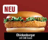 McChicken, neu auch im McDonalds-Einmaleins
