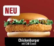 McChicken, neu auch im McDonalds-Einmaleins